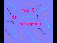 TOP 5 DE SETEMBRO DE 2015