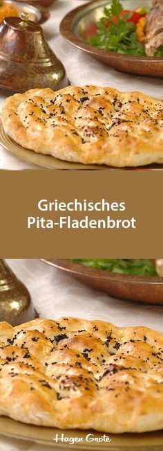 Griechisches Pita-Fladenbrot Maybe you have thought of area to go to in advance of determining Pain Artisanal, Greek Pita, Artisan Bread, Food Items, Cannoli, Pitaya, Pizza Logo, Bread Recipes, Pizza Recipes