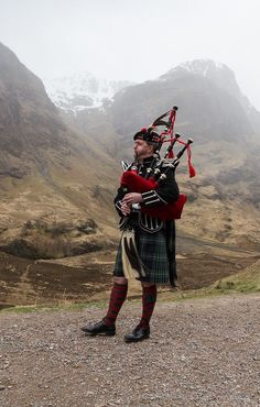 piper in Glencoe, Scotland Michael Louis, Glencoe Scotland, Scottish Accent, Scottish Highlands, Scottish Clans, England, Men In Kilts, Road Trip, Scotland Travel