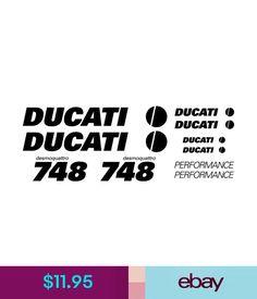 compatible MAXI SET DUCATI SUPERSPORT DESMODUE 750 Vinyl Decal Stickers Sheet