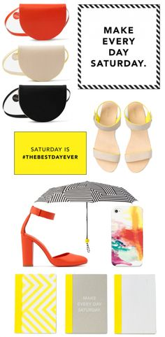The new Kate Spade Saturday line is cheery and adorable!