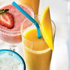 Peach-Mango Smoothie Recipe | MyRecipes.com