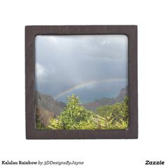 Kalalau Rainbow Jewelry Box