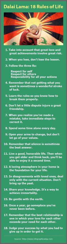 Dalai Lama life guides.