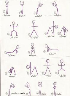 Yoga: saludo a la luna