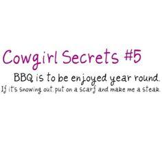 Cowgirl Secret #5
