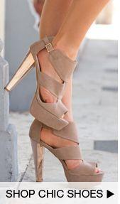 Shop New Chic Shoes