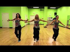 zumba dance workout for beginners step by step| great zumba cardio workout to lose belly fat - YouTube
