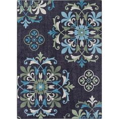 Better Homes And Gardens Medallion Indoor/Outdoor Polypropylene Area Rug |  Indoor Outdoor, Indoor And Patios