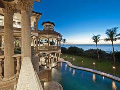 Oceanfront home
