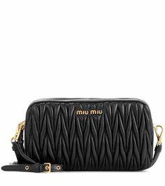 0e78d312abe49 Matelassé leather shoulder bag