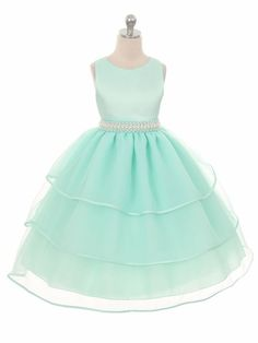 New Flower Girl Mint Green Dress Wedding Pageant Party Christmas Formal Wedding Formal Wedding, Chic Wedding, Party Wedding, Rustic Wedding, Wedding Ideas, Wedding Inspiration, Wedding Decorations, Green Wedding Dresses, Bridesmaid Dresses