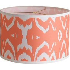 coral color table lamp - Google Search