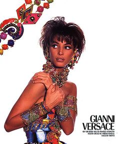 Christy Turlington for Gianni Versace 1991