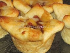 One of my favorite appetizers (heck, we make a meal out of them!) are my husband's grandmother's kolache recipe. These seem like a very, EXTREMELY loose version of those and hours quicker to make. Bbq Appetizers, Appetizer Recipes, Snack Recipes, Kolache Recipe, Campbells Recipes, Crescent Roll Recipes, Party Food And Drinks, Recipe Mix, Sausage Recipes
