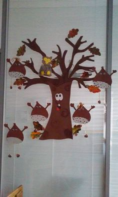 craft Autumn Crafts, Nature Crafts, Diy And Crafts, Crafts For Kids, Arts And Crafts, Autumn Activities, Activities For Kids, Classroom Board, Pure Fun