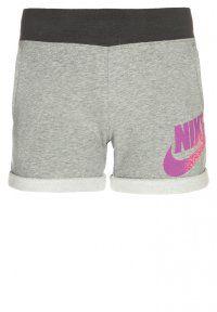 Nike Performance - NOVELTY - Short - dark grey heather/anthracite/pink pow
