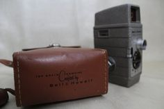 Bell & Howell 8MM One Nine with case by HapevilleVintage on Etsy