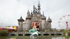 The artists in Dismaland