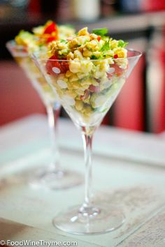 Crab Avocado Corn salad