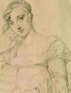 Mlle Josephine Nicaise-Lacroix by Ingres 1813