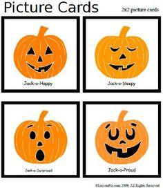 Free Pumpkin Feeling Cards Pinned By Pediastaff Please Visit