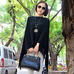 Cheap shawl stole, Buy Quality shawl sweatshirt directly from China shawl style Suppliers:           New 2015 Women Long Cardigans Autumn Winter Thicken Coat Casual Knitted Oversized Sweaters Warm Outwear
