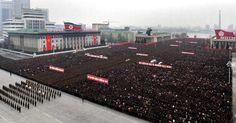 coreia do norte | Coreia do Norte reúne mais de 100 mil pessoas para celebrar teste ...
