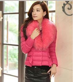 Japanese Winter Fashion Rose Women Coat
