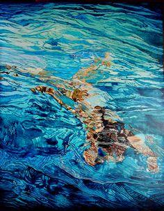 """Paolo Terdich; Oil, 2008, Painting """"Acqua 7"""""""