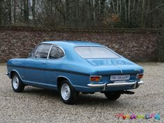 1970 Opel | 1970 Opel Kadett Coupe Rally for sale: Anamera