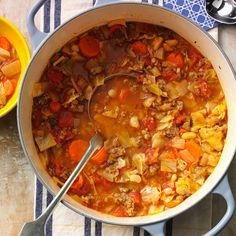 Great Northern Bean Stew Recipe -This thick and hearty stew is sure to chase the winter chills away. —Mildred Sherrer, Fort Worth, Texas