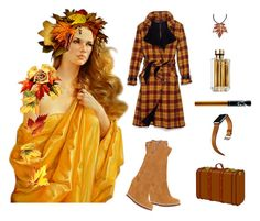 """Fall ready"" by gatewayalpha ❤ liked on Polyvore featuring Prada and Hermès"