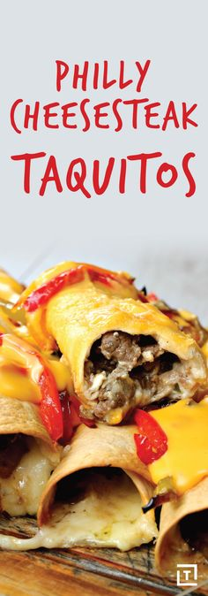 You don't have to be a Philadelphia native to experience the bittersweet emotions that accompany the end of a delicious cheesesteak (sheer satisfaction from having eaten something so gooey, juicy, and perfect, contrasted against the melancholy upon realizing that there's none left). Which is why Twisted's Philly cheesesteak taquitos are the gift that keeps on giving.