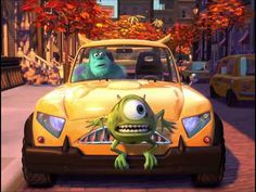 Pixar Short Films Collection Mike's New Car