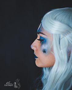 [The Halloween serie 2019] – #4 – Blue Witch | | Bleu Electrique