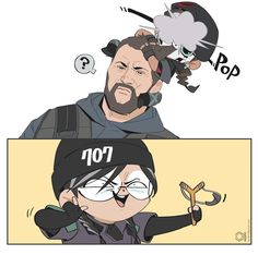 Rainbow Six Siege Anime, Rainbow 6 Seige, Rainbow Six Siege Memes, Tom Clancy's Rainbow Six, Rainbow Art, Drawing Reference Poses, Beautiful Drawings, Stupid Memes, Anime Style