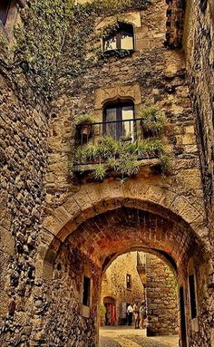 The ancient city of Girona - Costa Brava, Spain. On list to visit on my next trip to Spain Places Around The World, Oh The Places You'll Go, Places To Travel, Places To Visit, Around The Worlds, Medieval Village, Ancient City, Spain And Portugal, Spain Travel