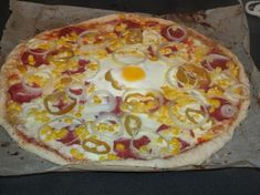 Pikantní pizza Hawaiian Pizza, Homemade, Food, Home Made, Essen, Meals, Yemek, Hand Made, Eten