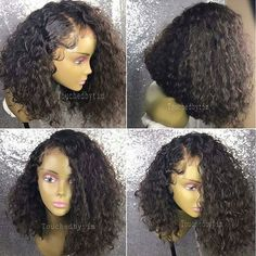 this hair is BOMB❤❤ Black Hairstyles, Wavy Weave Hairstyles, Wig Hairstyles, Hairstyle Ideas, Haircuts, Ombre Wigs, Ombre Hair, Wavy Hair, Curly Bob Weave