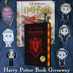 Harry Potter Books & Bookmarks Giveaway