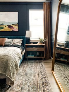How to build gorgeous wood DIY nightstands for your bedroom. These wide nightstands have plenty of storage and are easy to build! Nightstand Plans, Wood Nightstand, Nightstands, Diy Furniture Renovation, Small Dresser, Duvet Bedding, Craftsman House Plans, Small House Design, Bed Styling