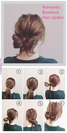 Flip Roll Bun Frisuren Hair Styles Bun Hairstyles Und Hair