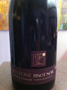 Whetstone Pinot Noir. And a beautiful tasting estate.