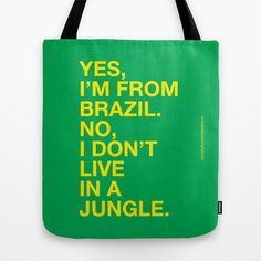 From Brazil III Tote Bag