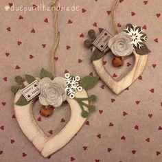 #xmas #handmade #country #heart #handmadewithlove #happyxmas #duepuntihandmade