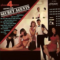 The Roland Shaw Orchestra - Themes for Secret Agents (1966)