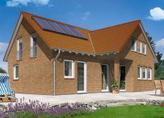 Domizil 192 - Klinker.  Mehr Informationen zu den Klinkerhäusern von Town & Country Haus auch unter: http://www.klinker-hausbau.de/klinkerhaeuser.html