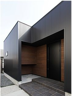 beautiful houses interior dream homes Facade Design, Architecture Design, House Design, House Season 4, Storefront Signs, Small Buildings, Steel House, French Country Cottage, Metal Homes