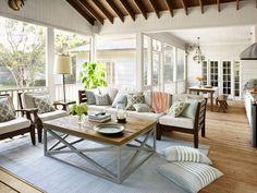 Outdoor Kitchen and Three-Season Room